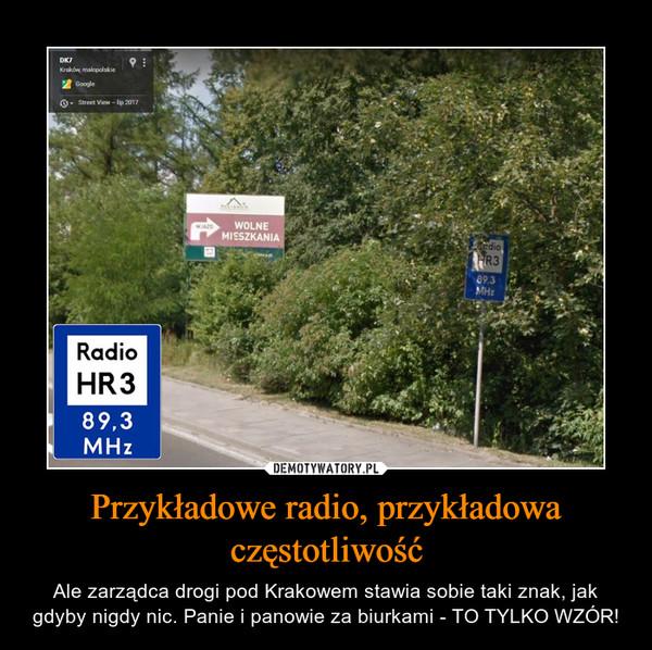 Przykładowe radio, przykładowa częstotliwość