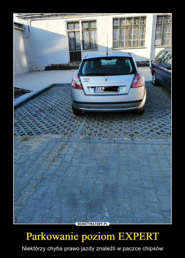 Parkowanie poziom EXPERT – Niektórzy chyba prawo jazdy znaleźli w paczce chipsów