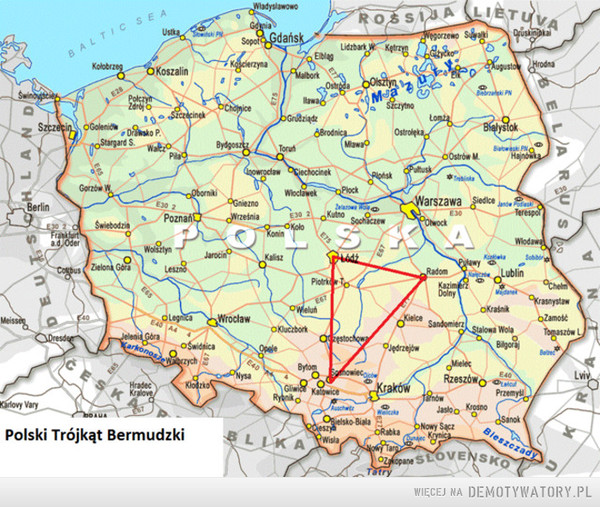 Polski Trójkąt Bermudzki –