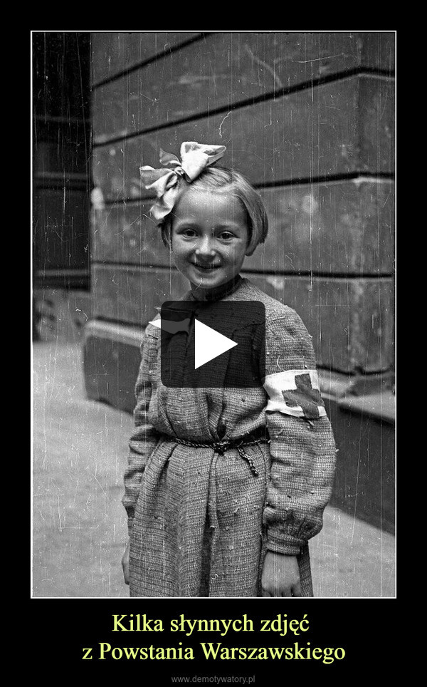 Kilka słynnych zdjęć z Powstania Warszawskiego –