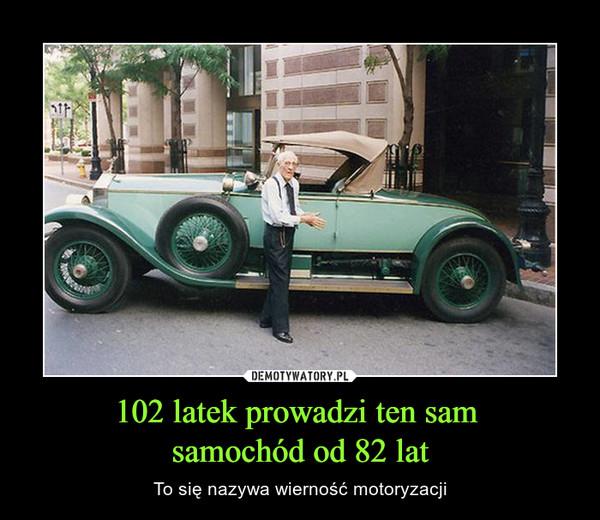 102 latek prowadzi ten sam samochód od 82 lat – To się nazywa wierność motoryzacji