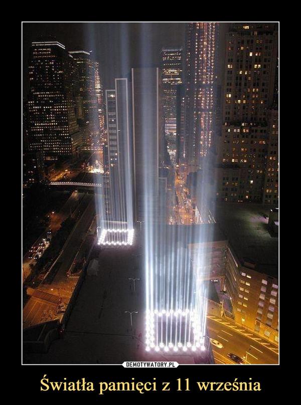 Światła pamięci z 11 września –