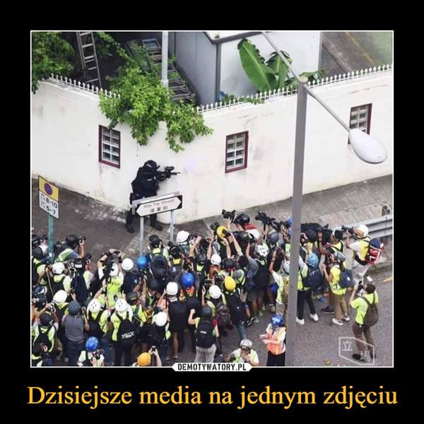 Dzisiejsze media na jednym zdjęciu –