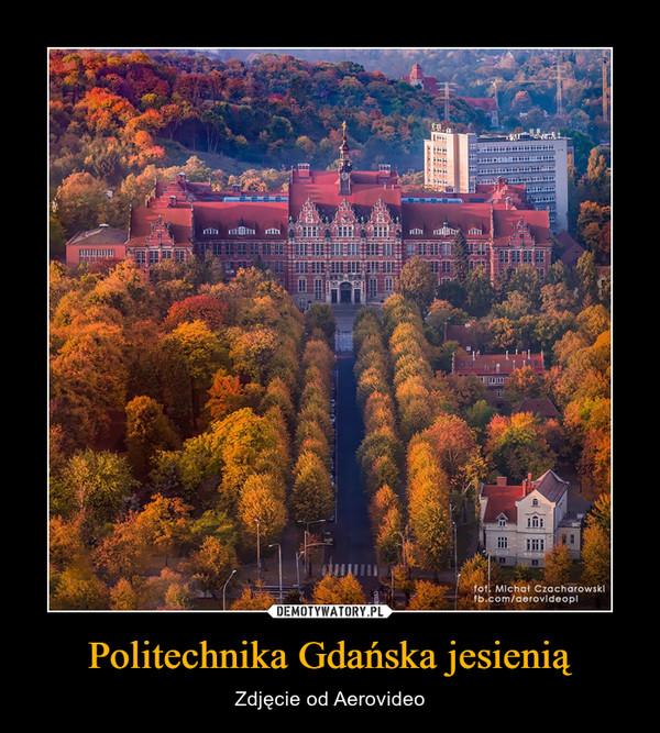 Politechnika Gdańska jesienią – Zdjęcie od Aerovideo