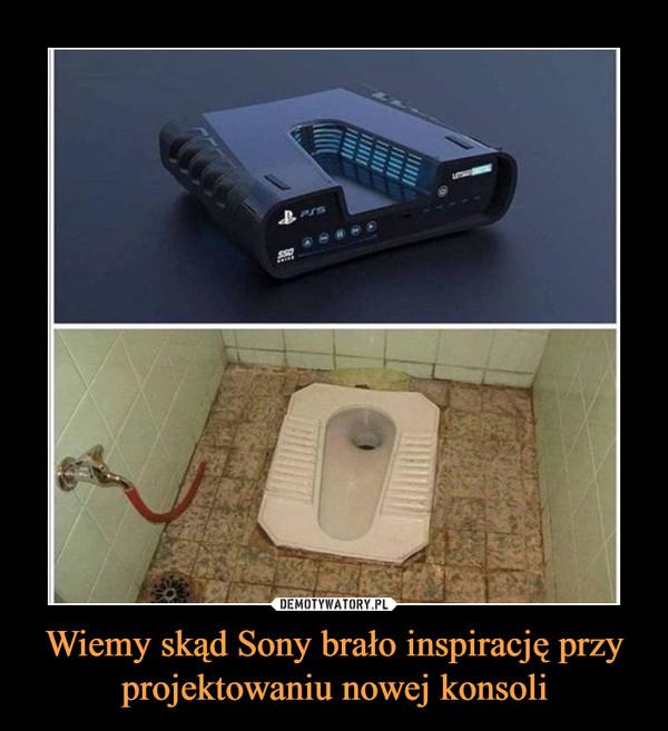 Wiemy skąd Sony brało inspirację przy projektowaniu nowej konsoli –
