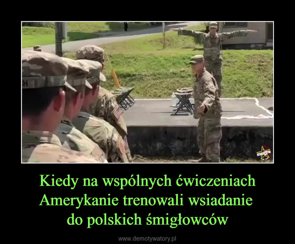Kiedy na wspólnych ćwiczeniach Amerykanie trenowali wsiadanie do polskich śmigłowców –