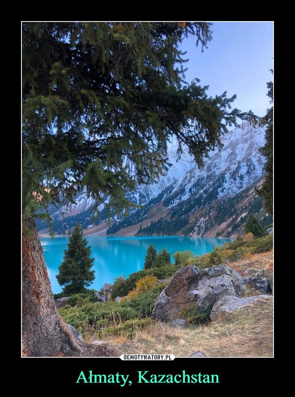 Ałmaty, Kazachstan –
