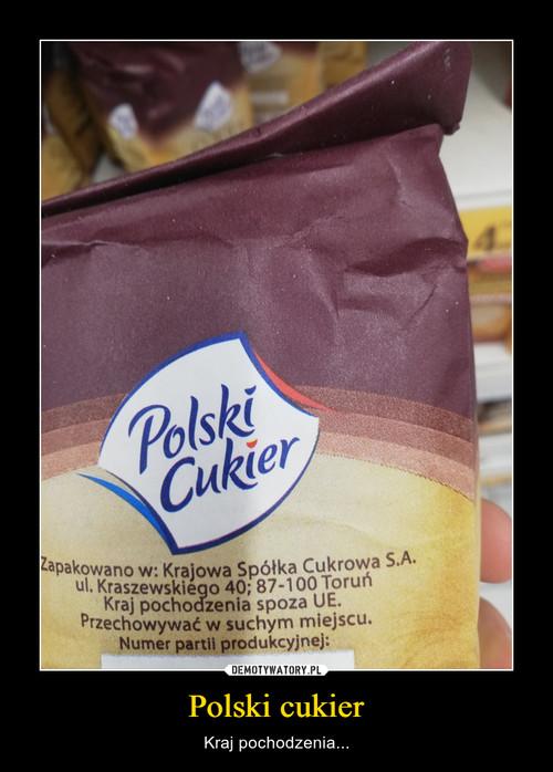 Polski cukier