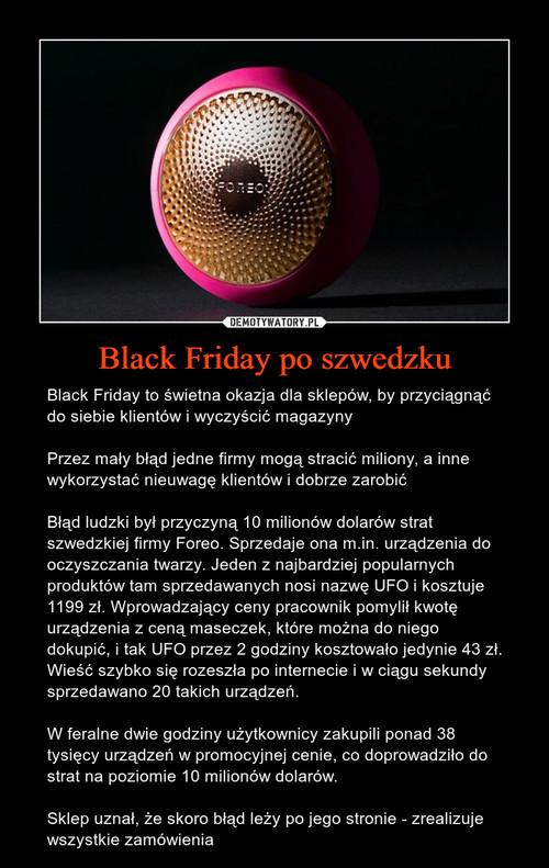 Black Friday po szwedzku