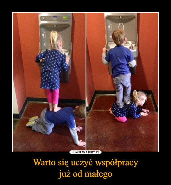 Warto się uczyć współpracyjuż od małego –