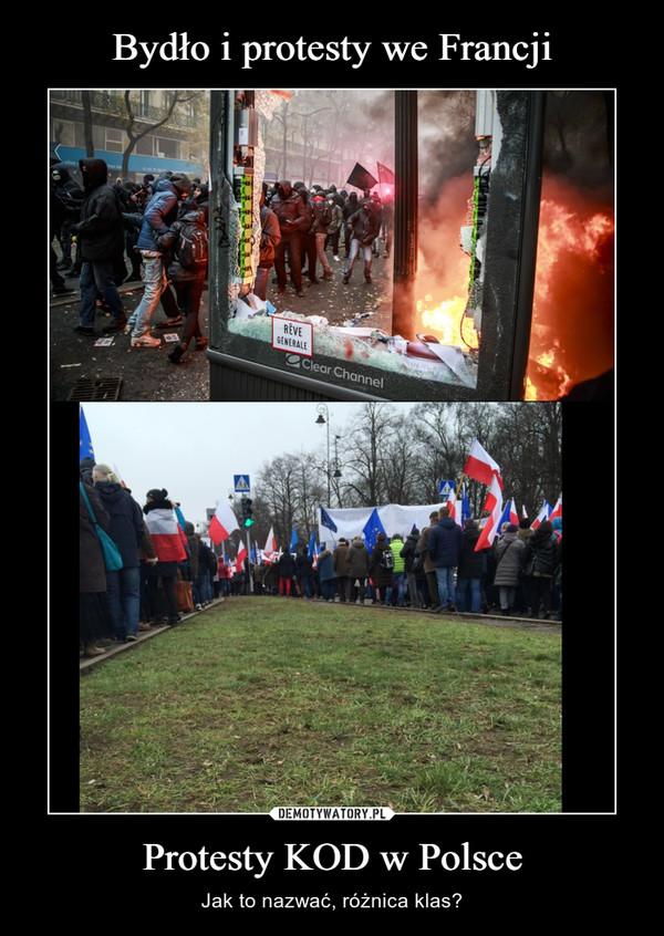 Protesty KOD w Polsce – Jak to nazwać, różnica klas?