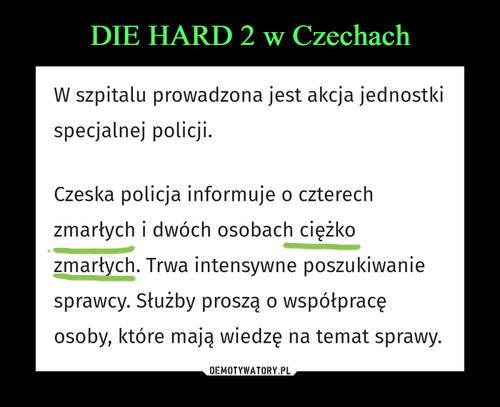 DIE HARD 2 w Czechach
