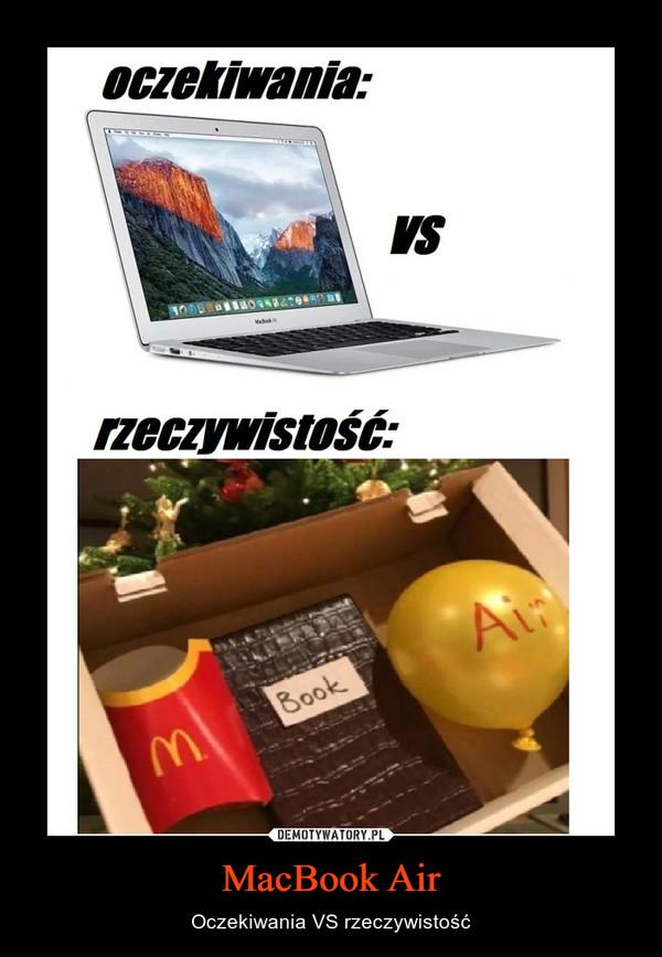 MacBook Air – Oczekiwania VS rzeczywistość