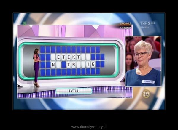 Kolejna wpadka w finale Koła Fortuny, która pozbawiła uczestniczce szanse na duże pieniądze... –
