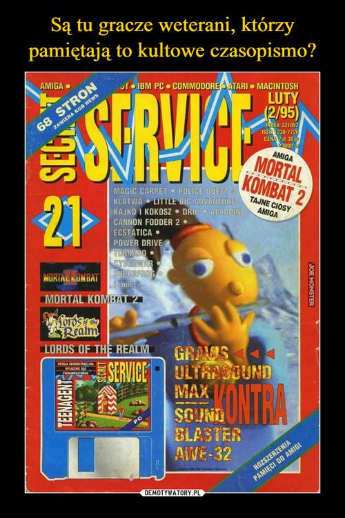 Są tu gracze weterani, którzy pamiętają to kultowe czasopismo?