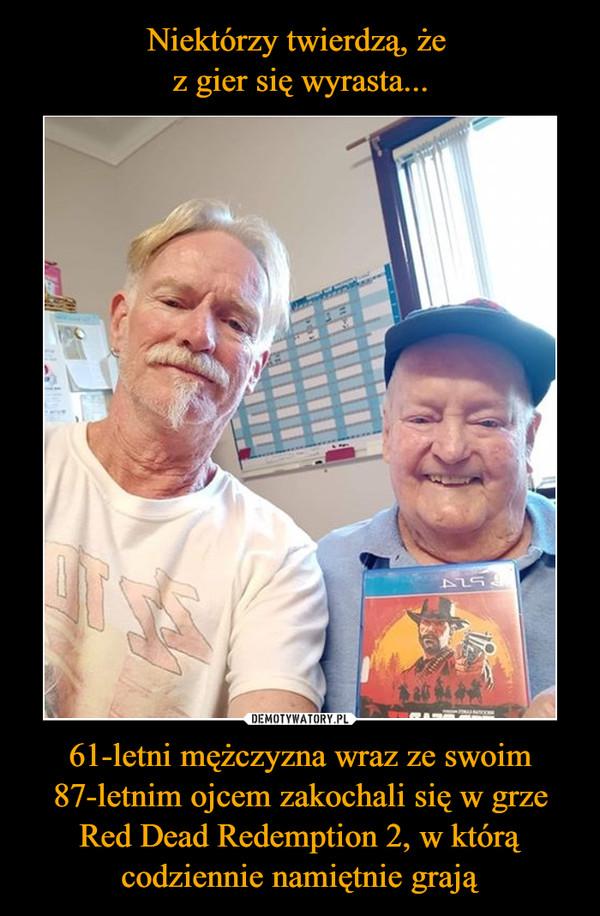 61-letni mężczyzna wraz ze swoim 87-letnim ojcem zakochali się w grze Red Dead Redemption 2, w którą codziennie namiętnie grają –