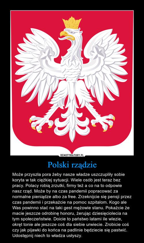 Polski rządzie