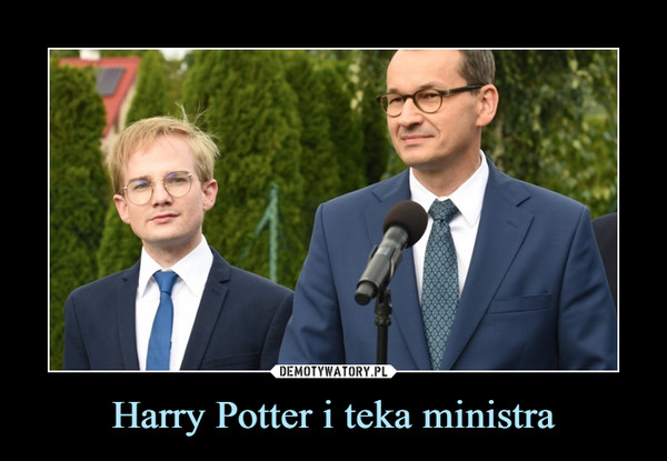 Harry Potter i teka ministra –