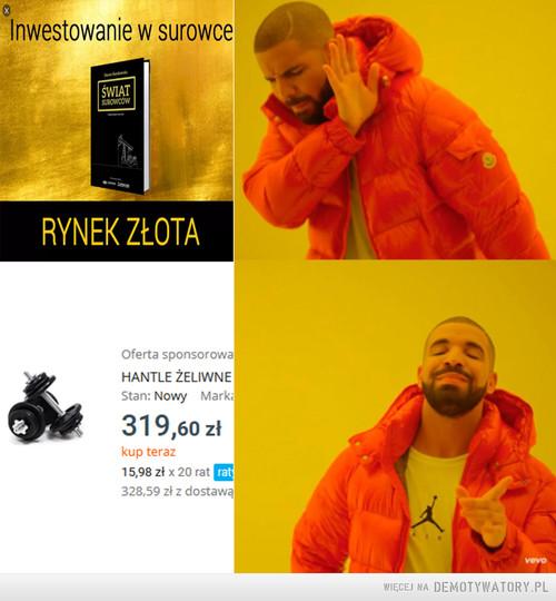 Jakie czasy, tacy inwestorzy.