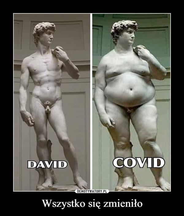 Wszystko się zmieniło –  DAVID COVID