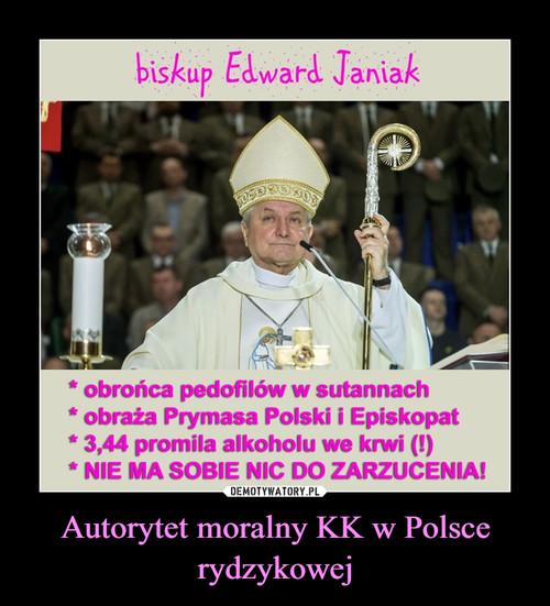 Autorytet moralny KK w Polsce rydzykowej