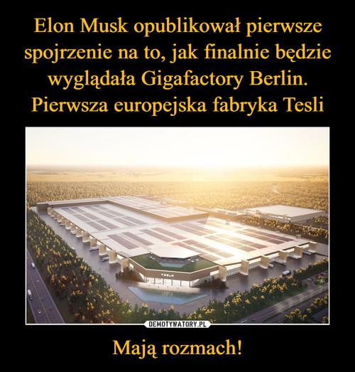 Elon Musk opublikował pierwsze spojrzenie na to, jak finalnie będzie wyglądała Gigafactory Berlin. Pierwsza europejska fabryka Tesli Mają rozmach!
