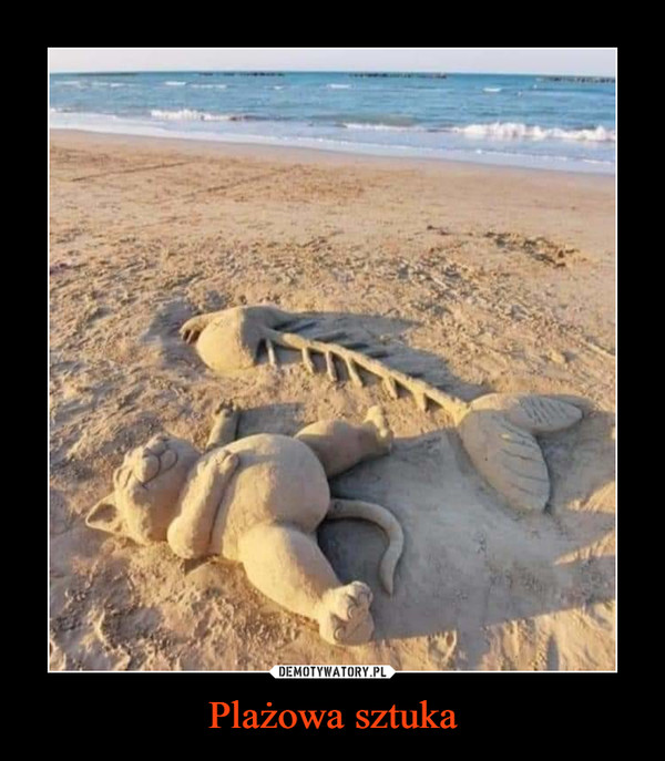 Plażowa sztuka –