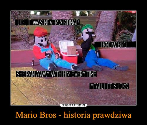 Mario Bros - historia prawdziwa