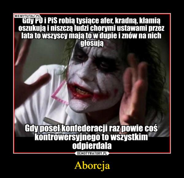 Aborcja –