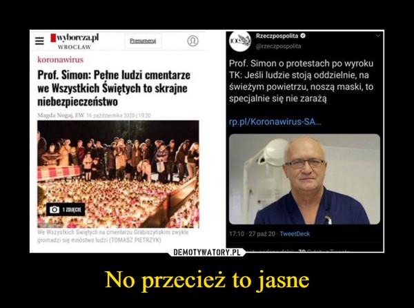 No przecież to jasne –  wyborcza.pl Wrocław koronawirus Prof. Simon: Pełne ludzi cmentarze we wszystkich Świętych to skrajne niebezpieczeństwo Rzeczpospolita Prof. Simon o protestach po wyroku TK: Jeśli ludzie stoją oddzielnie, na świeżym powietrzu, noszą maski, to specjalnie się nie zarażą