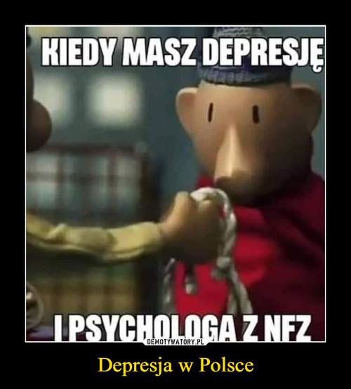 Depresja w Polsce