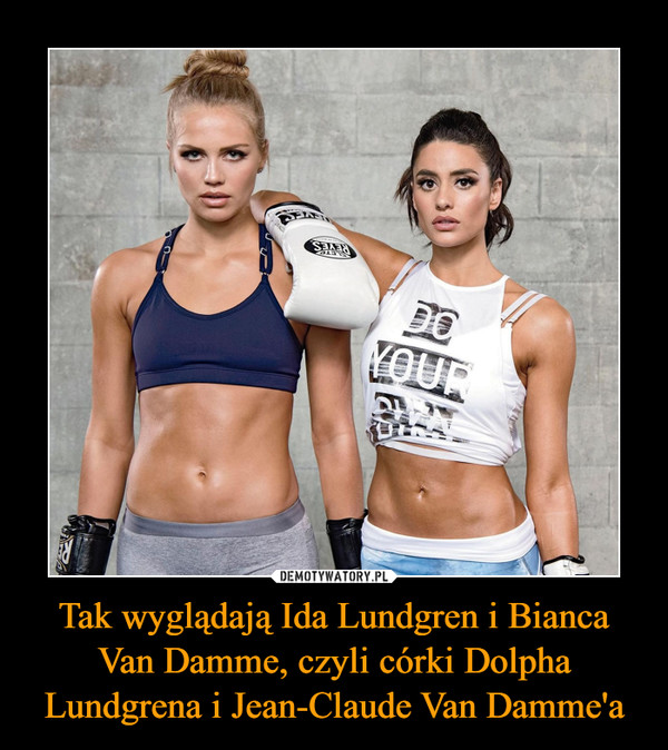 Tak wyglądają Ida Lundgren i Bianca Van Damme, czyli córki Dolpha Lundgrena i Jean-Claude Van Damme'a –