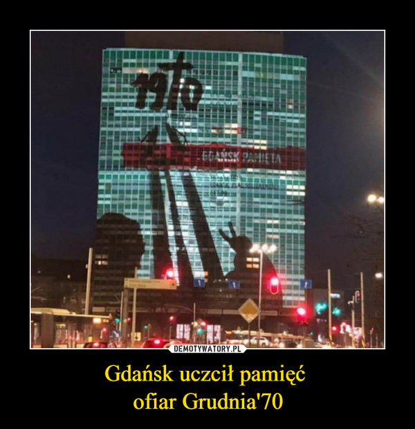 Gdańsk uczcił pamięć ofiar Grudnia'70 –