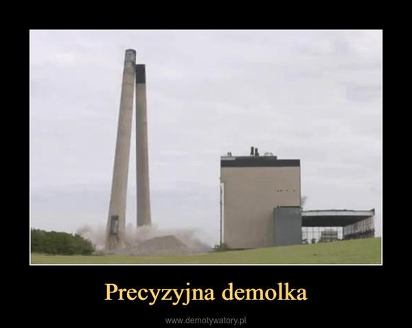 Precyzyjna demolka –