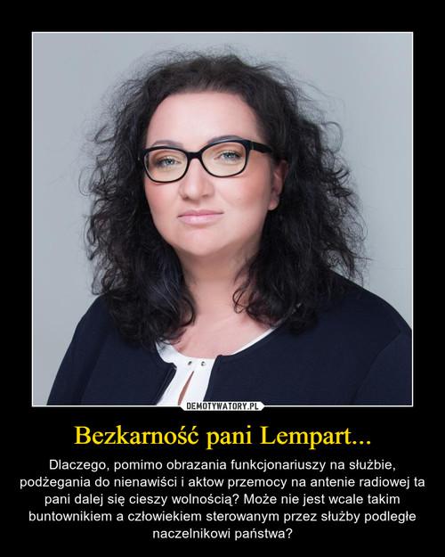 Bezkarność pani Lempart...