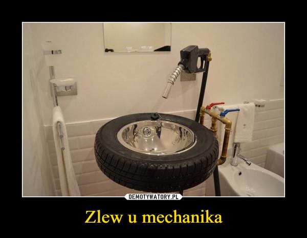 Zlew u mechanika