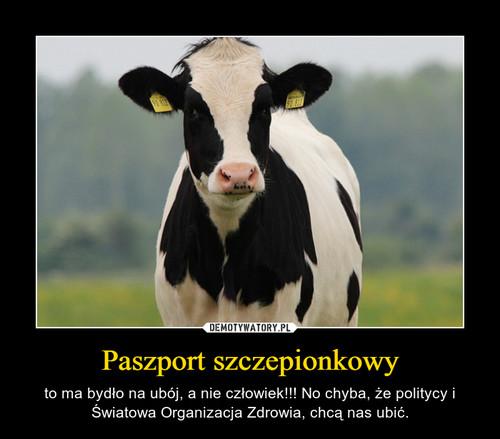 Paszport szczepionkowy