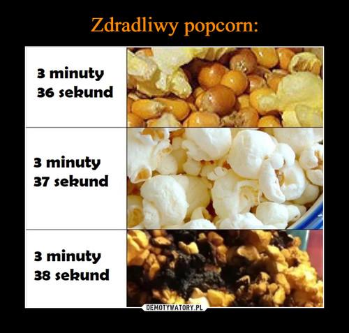 Zdradliwy popcorn: