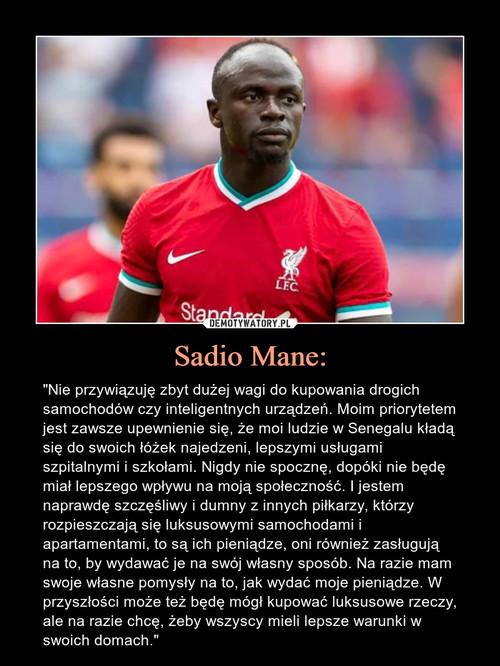 Sadio Mane: