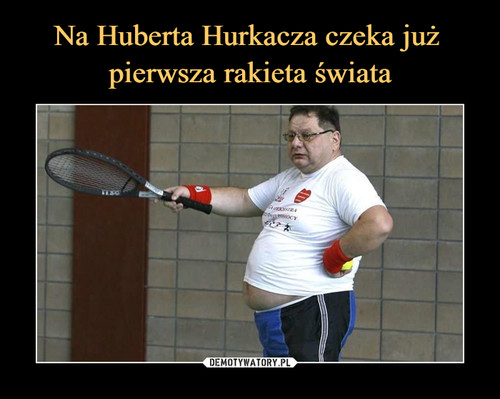 Na Huberta Hurkacza czeka już  pierwsza rakieta świata