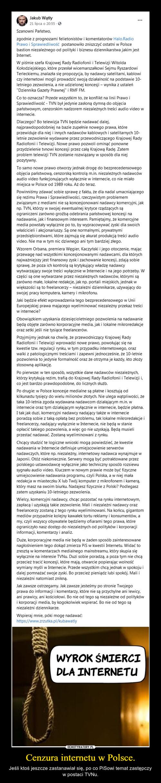 Cenzura internetu w Polsce.