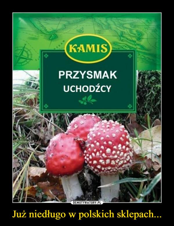 Już niedługo w polskich sklepach... –