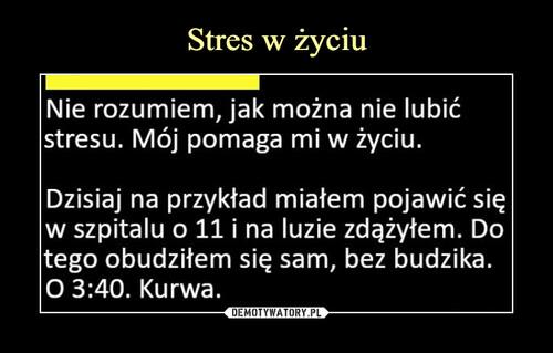Stres w życiu